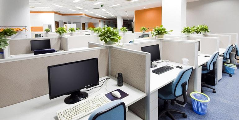 Entretien et nettoyage de bureaux au clean propreté services